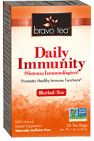 Herbal Tea Daily Immunityh 20 bags Bravo Tea