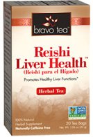 Herbal Tea Reishi Liver Health 20 bags Bravo Tea