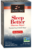 Herbal Tea Sleep Betterh 20 bags Bravo Tea