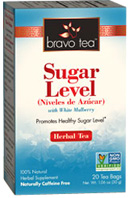 Herbal Tea Sugar Levelh 20 bags Bravo Tea