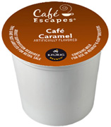 Coffee K-Cup 12 ct. Cafe Caramel Cafe Escapes