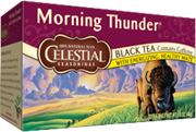 Black Tea Morning Thunder  20 bags Celestial Seasonings