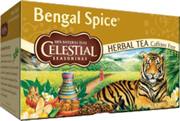 Black Tea Bengal Spice 20 bags Celestial Seasonings
