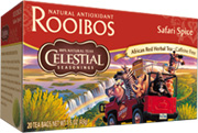 Rooibos Tea Safari Spice 20 Tea Bags Celestial Seasonings