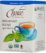 Black Tea Breakfast Blend 16 bags Choice Organic Teas
