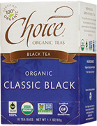 Black Tea Classic Black 16 bags Choice Organic Teas