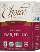 Black Tea Darjeeling 16 bags Choice Organic Teas