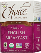 Black Tea English Breakfast 16 bags Choice Organic Teas