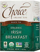 Black Tea Irish Breakfast 16 bags Choice Organic Teas