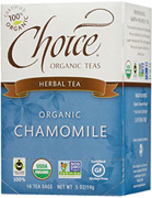 Herbal Tea Chamomile 16 bags Choice Organic Teas