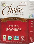 Herbal Tea Rooibos 16 bags Choice Organic Teas