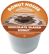 Coffee K-Cup 12 ct. Chocolate Glazed Donut Donut House Collection