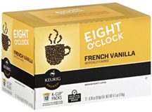 Coffee K-Cup 12 ct. French Vanilla Eight O'Clock