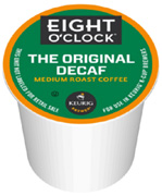 Coffee K-Cup 12 ct. The Original Decaf Eight O'Clock