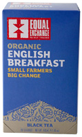 Organic Black Tea English Breakfast 20 bags Equal Exchange