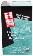 Organic Black Tea Irish Breakfast 20 bags Equal Exchange