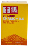 Organic Herbal Tea Chamomile 20 bags Equal Exchange