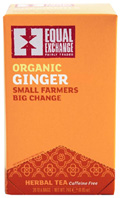 Organic Herbal Tea Ginger 20 bags Equal Exchange