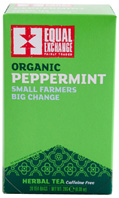 Organic Herbal Tea Peppermint 20 bags Equal Exchange
