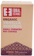 Organic Herbal Tea Rooibos Vanilla 20 bags Equal Exchange