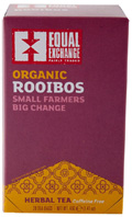Organic Herbal Tea Rooibos 20 bags Equal Exchange
