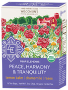 Peace, Harmony, Tranquility Tea 16 ct. Four Elements Herbals