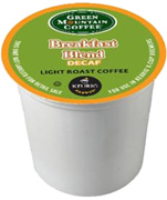 Coffee K-Cup 12 ct. Breakfast Blend Decaf Green Mountain Coffee
