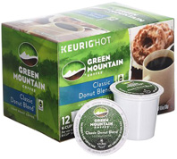 Coffee K-Cup 12 ct. Classic Donut Blend Green Mountain Coffee