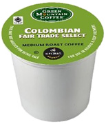 Coffee K-Cup 12 ct. Colombian Fair Trade Select Green Mountain Coffee