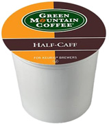 Coffee K-Cup 12 ct. Half-Caff Green Mountain Coffee