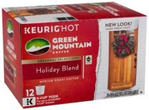 Coffee K-Cup 12 ct. Holiday Blend Green Mountain Coffee