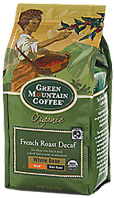 Coffee Whole Bean French Roast Decaf 12 oz. Green Mountain Coffee