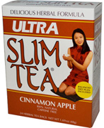 Ultra Slim Tea Cinnamon Apple 24 bags Hobe Laboratories