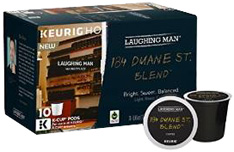 Coffee K-Cup 10 ct. 184 Duane St. Blend Laughing Man