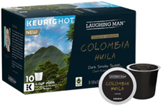 Coffee K-Cup 10 ct. Colombia Huila Laughing Man