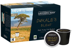 Coffee K-Cup 10 ct. Dukale's Blend Laughing Man