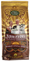 Organic Coffee Newman's Special Blend Decaf 10 oz. Newman's Own Organics