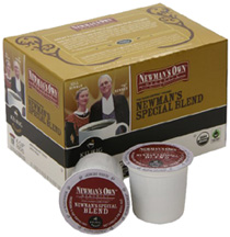 Organic Coffee Newman's K-Cups Special Blend  12 ct. Newman's Own Organics