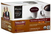 Organic Coffee Newman's K-Cups Special Blend Decaf 12 ct. Newman's Own Organics