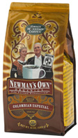 Organic Coffee Newman's Colombian Especial 10 oz. Newman's Own Organics