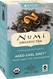 Black Tea Aged Earl Grey 18 bags Numi Tea