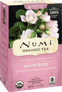 Specialty Tea White Rose 16 Tea Bags Numi Tea