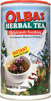 Instant Herbal Tea, 7 oz. Olbas