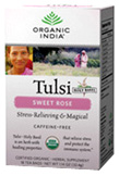 Tulsi Tea Sweet Rose 18 ct. Organic India Tea
