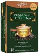 Herbal Tea Peppermint Green Tear18 bags Prince of Peace