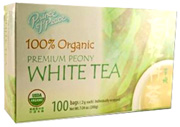 Organic Peony White Tea, 100 ct. Prince of Peace