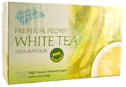 Premium Peony White Tea, 100 ct. Prince of Peace