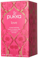 Herbal Tea Love 20 bags Pukka Herbs
