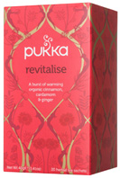Herbal Tea Revitalise 20 bags Pukka Herbs