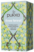 Herbal Tea Three Fennel 20 bags Pukka Herbs